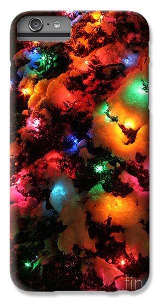 Coldplay iPhone 6s Plus Case - Christmas Lights Coldplay by Wayne Moran