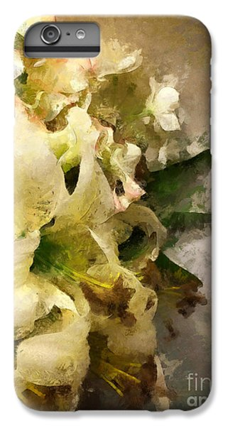 Christmas White Flowers IPhone 6s Plus Case