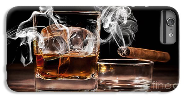 Cigar And Alcohol Collection IPhone 6s Plus Case by Marvin Blaine