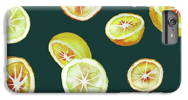 Citrus IPhone 6s Plus Case by Varpu Kronholm