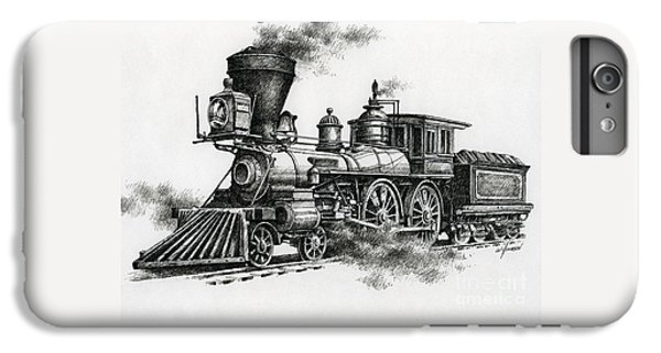 Train iPhone 6s Plus Case - Classic Steam by James Williamson