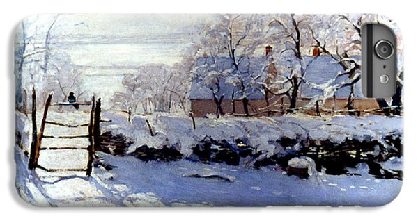 Claude Monet The Magpie - To License For Professional Use Visit Granger.com IPhone 6s Plus Case