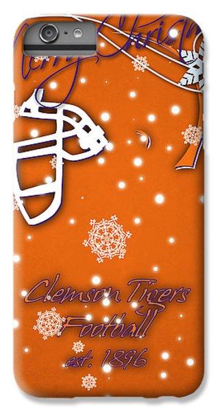 Clemson iPhone 6s Plus Case - Clemson Tigers Christmas Card by Joe Hamilton