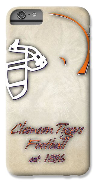 Clemson iPhone 6s Plus Case - Clemson Tigers Helmet 2 by Joe Hamilton