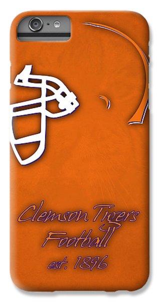 Clemson iPhone 6s Plus Case - Clemson Tigers Helmet by Joe Hamilton