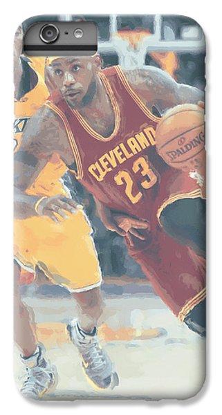 Cleveland Cavaliers Lebron James 3 IPhone 6s Plus Case by Joe Hamilton