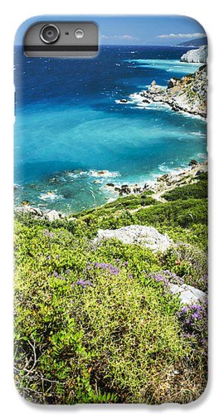 Greece iPhone 6s Plus Case - Coast Of Greece by Jelena Jovanovic
