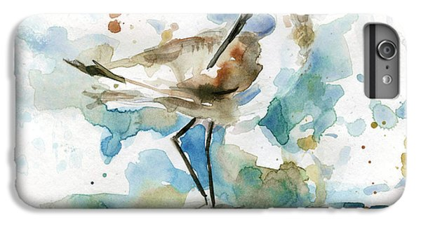 Sandpiper iPhone 6s Plus Case - Coatal Sandpiper 2 by Carol Robinson