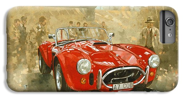 Car iPhone 6s Plus Case - Cobra At Brooklands by Peter Miller