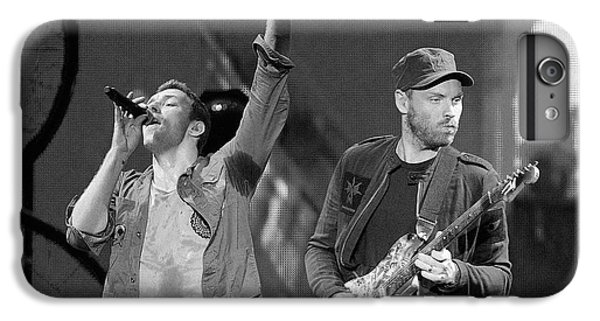 Coldplay iPhone 6s Plus Case - Coldplay 14 by Rafa Rivas