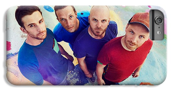 Coldplay iPhone 6s Plus Case - Coldplay by Dee Art