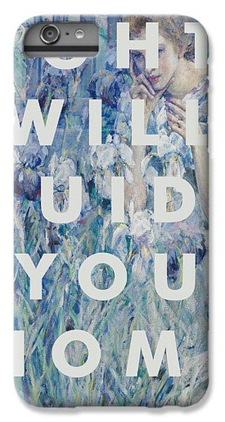 Coldplay Lyrics Print IPhone 6s Plus Case