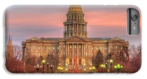 IPhone 6s Plus Case featuring the photograph Colorado Capital by Gary Lengyel