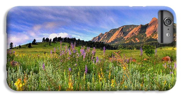 Landscapes iPhone 6s Plus Case - Colorado Wildflowers by Scott Mahon