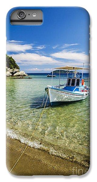 Greece iPhone 6s Plus Case - Colorful Boat by Jelena Jovanovic