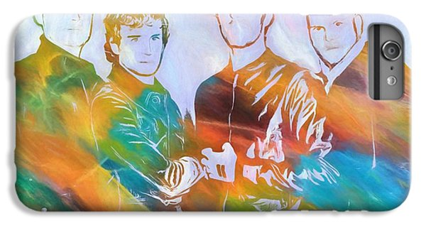 Coldplay iPhone 6s Plus Case - Colorful Coldplay by Dan Sproul
