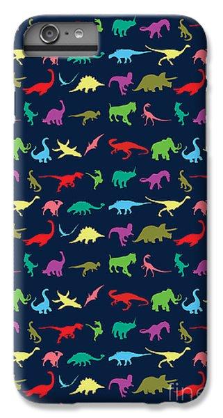 Colorful Mini Dinosaur IPhone 6s Plus Case by Naviblue