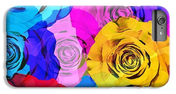 Colorful Roses Design IPhone 6s Plus Case
