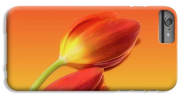 Tulip iPhone 6s Plus Case - Colorful Tulips by Wim Lanclus