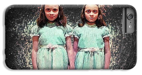 Come Play With Us - The Shining Twins IPhone 6s Plus Case by Taylan Apukovska