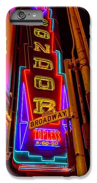 Condor Neon On Broadway IPhone 6s Plus Case
