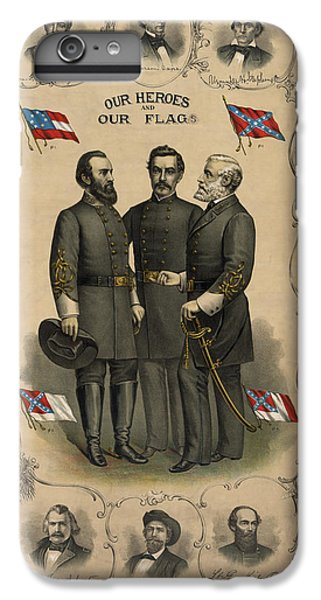Bar iPhone 6s Plus Case - Confederate Generals Of The Civil War by War Is Hell Store