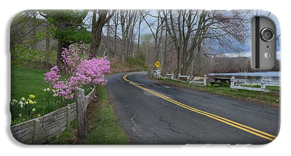 IPhone 6s Plus Case featuring the photograph Connecticut Country Road by Bill Wakeley