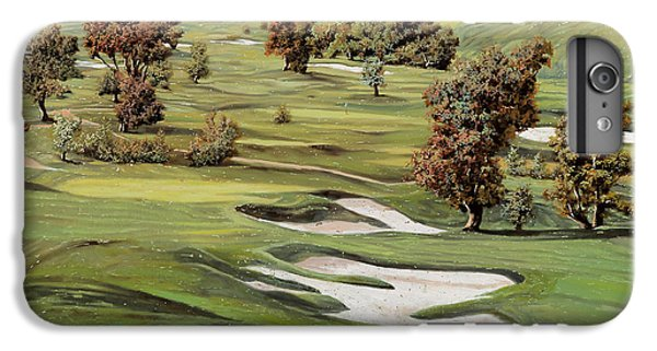 Cordevalle Golf Course IPhone 6s Plus Case by Guido Borelli