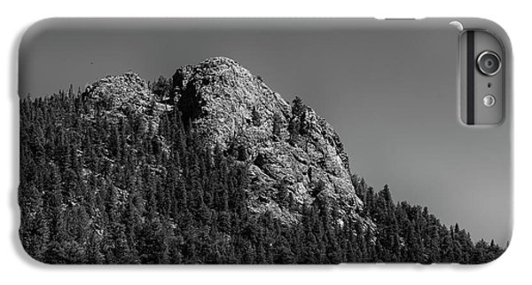 IPhone 6s Plus Case featuring the photograph Crescent Moon And Buffalo Rock by James BO Insogna