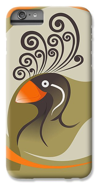 crestedAUKLET IPhone 6s Plus Case by Mariabelones ART