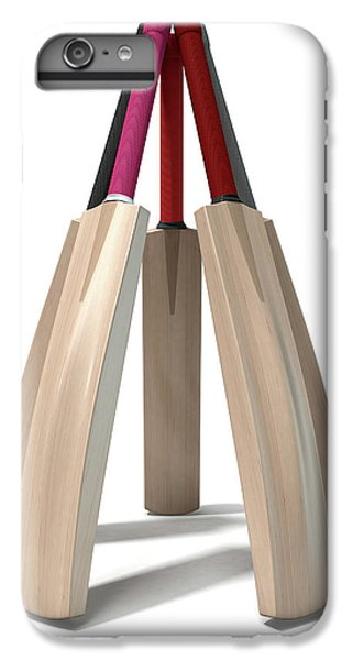 Cricket Bat Circle IPhone 6s Plus Case