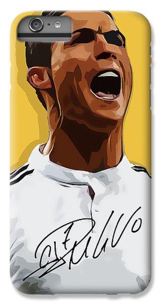 Cristiano Ronaldo Cr7 IPhone 6s Plus Case by Semih Yurdabak