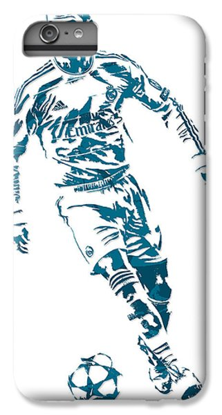 Cristiano Ronaldo Real Madrid Pixel Art 1 IPhone 6s Plus Case