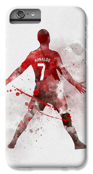 Cristiano Ronaldo United IPhone 6s Plus Case