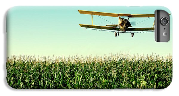 Airplane iPhone 6s Plus Case - Crops Dusted by Todd Klassy