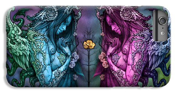 Flower Fairy iPhone 6s Plus Case - Cthluhu Rainbow by David Bollt