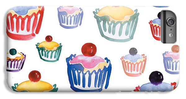 Fairy Cake iPhone 6s Plus Case - Cupcake Crazy by Sarah Hough