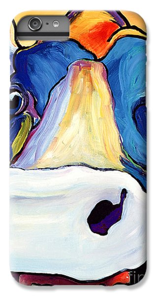 Cow iPhone 6s Plus Case - Dairy Queen I   by Pat Saunders-White