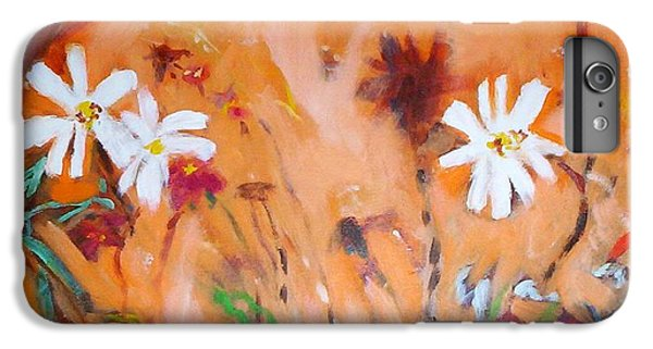 Daisies Along The Fence IPhone 6s Plus Case by Winsome Gunning