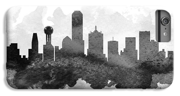 Dallas Skyline iPhone 6s Plus Case - Dallas Cityscape 11 by Aged Pixel