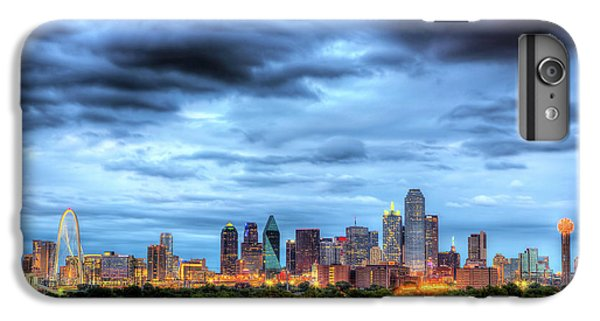 Dallas Skyline iPhone 6s Plus Case - Dallas Skyline by Shawn Everhart