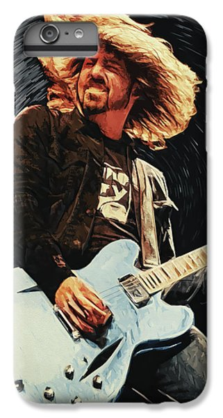 Vulture iPhone 6s Plus Case - Dave Grohl by Taylan Apukovska