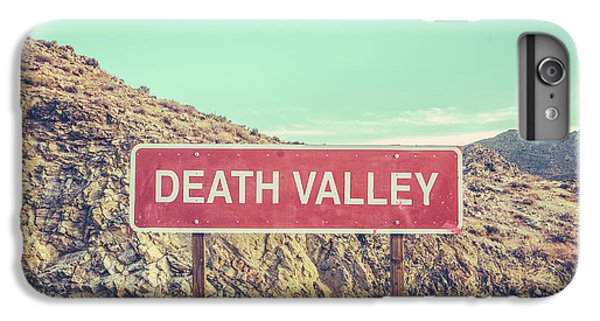 Hot iPhone 6s Plus Case - Death Valley Sign by Mr Doomits