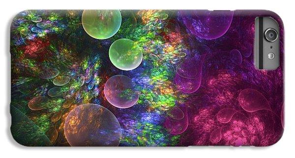 Floral iPhone 6s Plus Case - Deep Sea Flora I by Amorina Ashton