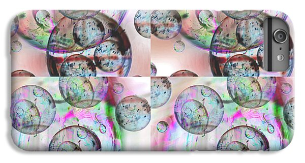 IPhone 6s Plus Case featuring the photograph Delicate Bubbles by Nareeta Martin