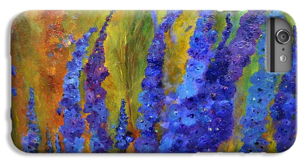 Delphiniums IPhone 6s Plus Case by Claire Bull
