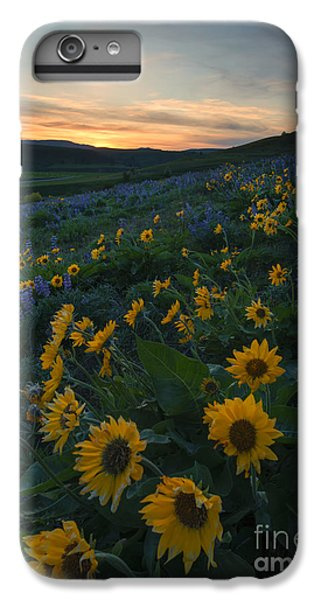 Desert Sunset iPhone 6s Plus Case - Desert Gold by Mike Dawson