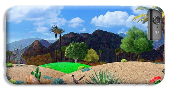 Roadrunner iPhone 6s Plus Case - Desert Splendor by Snake Jagger