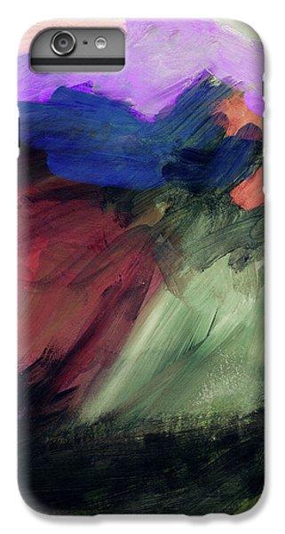 Desert Sunset iPhone 6s Plus Case - Desert Sunset 1- Art By Linda Woods by Linda Woods