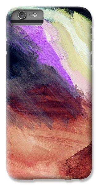 Desert Sunset iPhone 6s Plus Case - Desert Sunset 2- Abstract Art By Linda Woods by Linda Woods